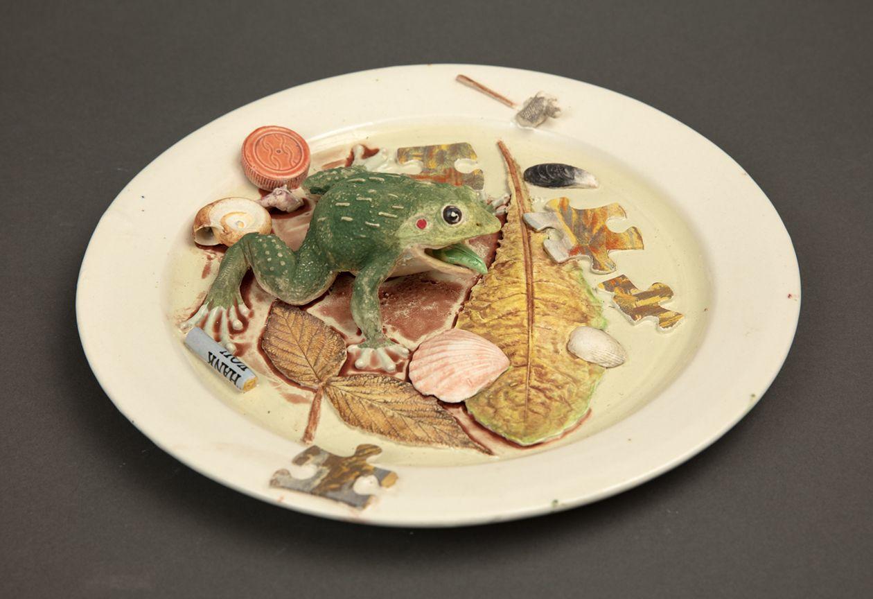 Richard Shaw Croaking Frog and Puzzle Parts