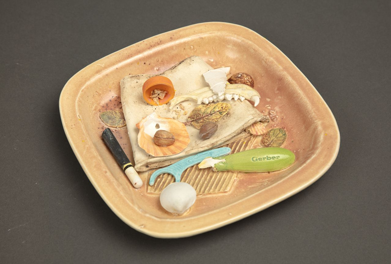 Richard Shaw Low Tide Jaw Bone with Flat Cup