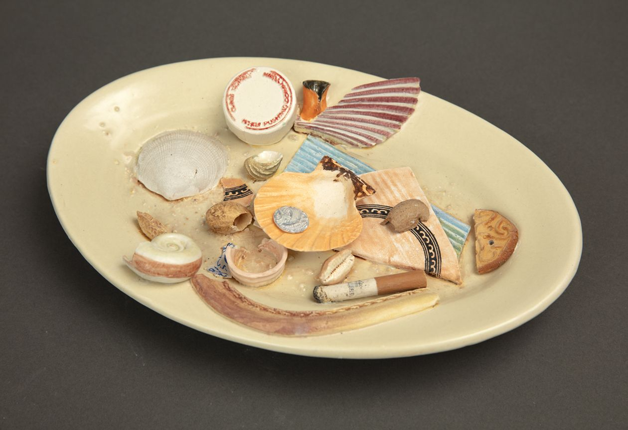 Richard Shaw Low Tide Shells Cookie and Cigarette Butt