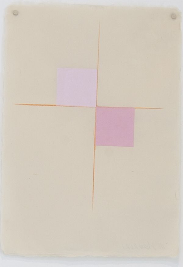 Martha Shaw Untitled (Two Shades of Pink)
