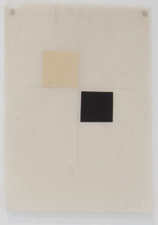 Martha Shaw Untitled (Yellow & Black)