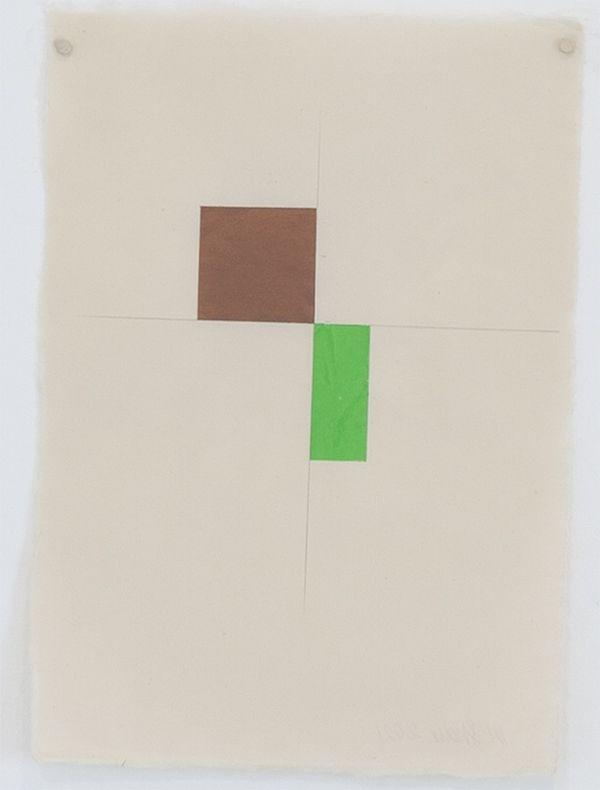 Martha Shaw Untitled (Brown & Green)