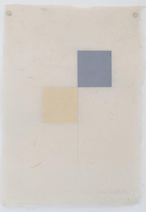 Martha Shaw Untitled (Yellow & Gray)
