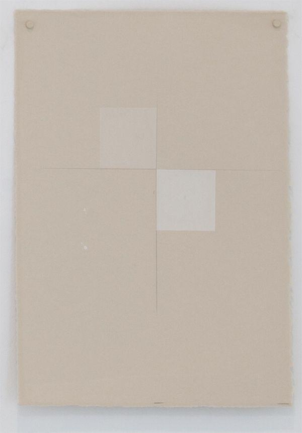 Martha Shaw Untitled (Buff & White)