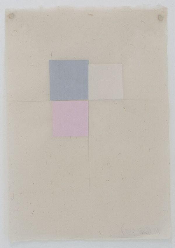 Martha Shaw Untitled (Gray, Buff & Pink)
