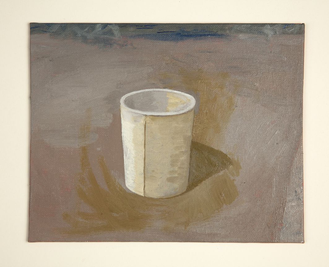 Martha Shaw Untitled (Cup with Yellow Ochre)