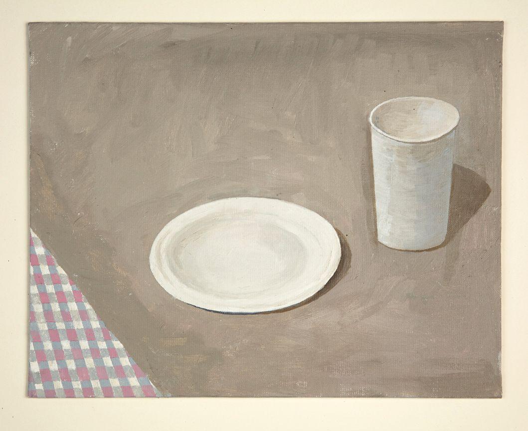 Martha Shaw Untitled (Cloth, Plate, Cup)
