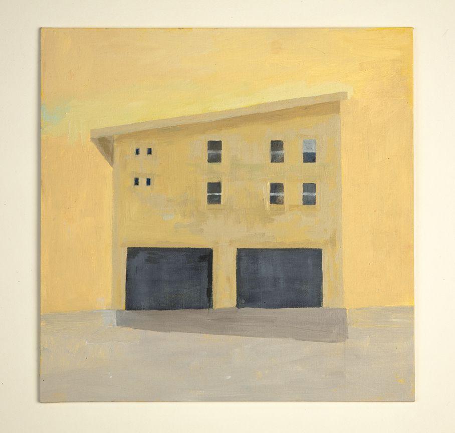 Martha Shaw Untitled (Yellow House on Yellow Background)