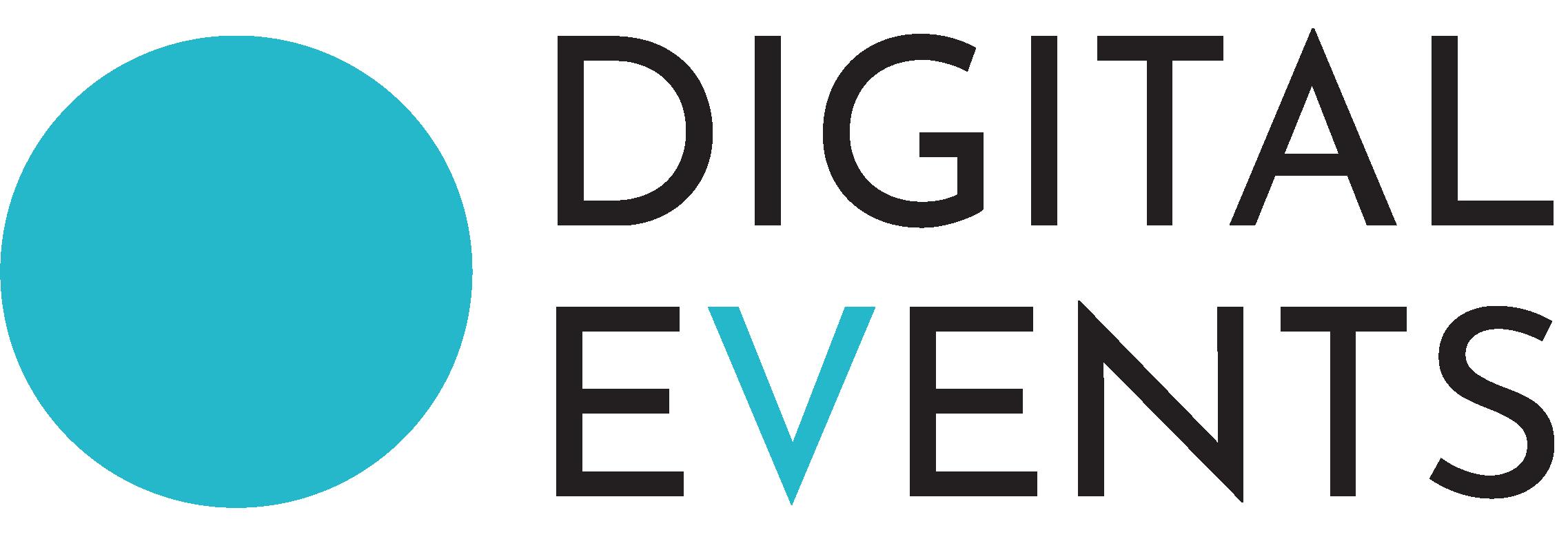 Digital Events Logo Black