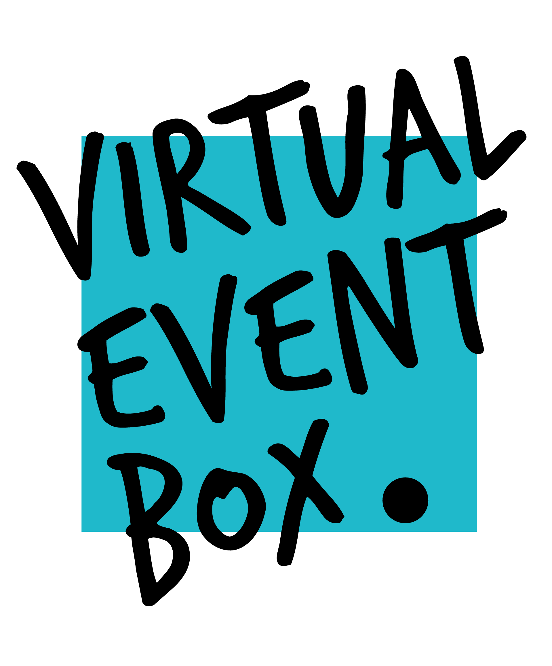 Virtual Event Box Logo Black