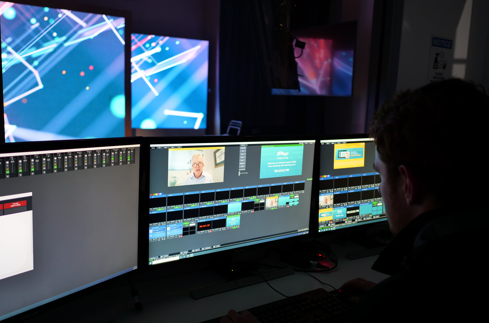Port Melbourne Studio control room
