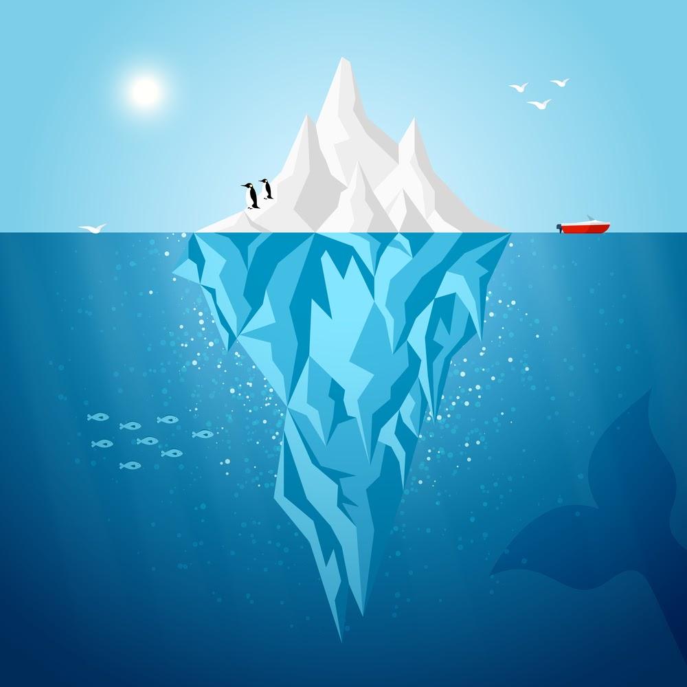 Icebergo of ignorance