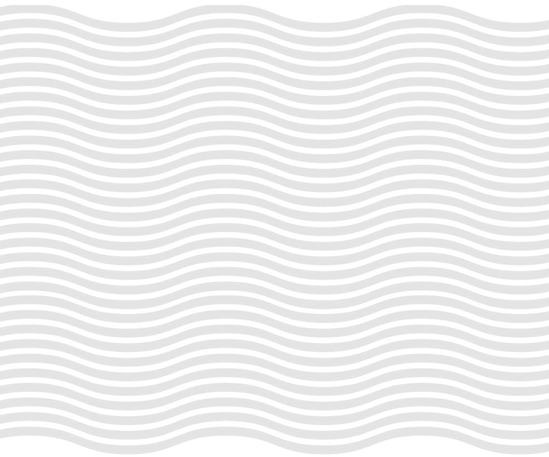 pattern del brand identity design di Vista Ristorante formato da onde di colore grigio chiaro su sfondo bianco