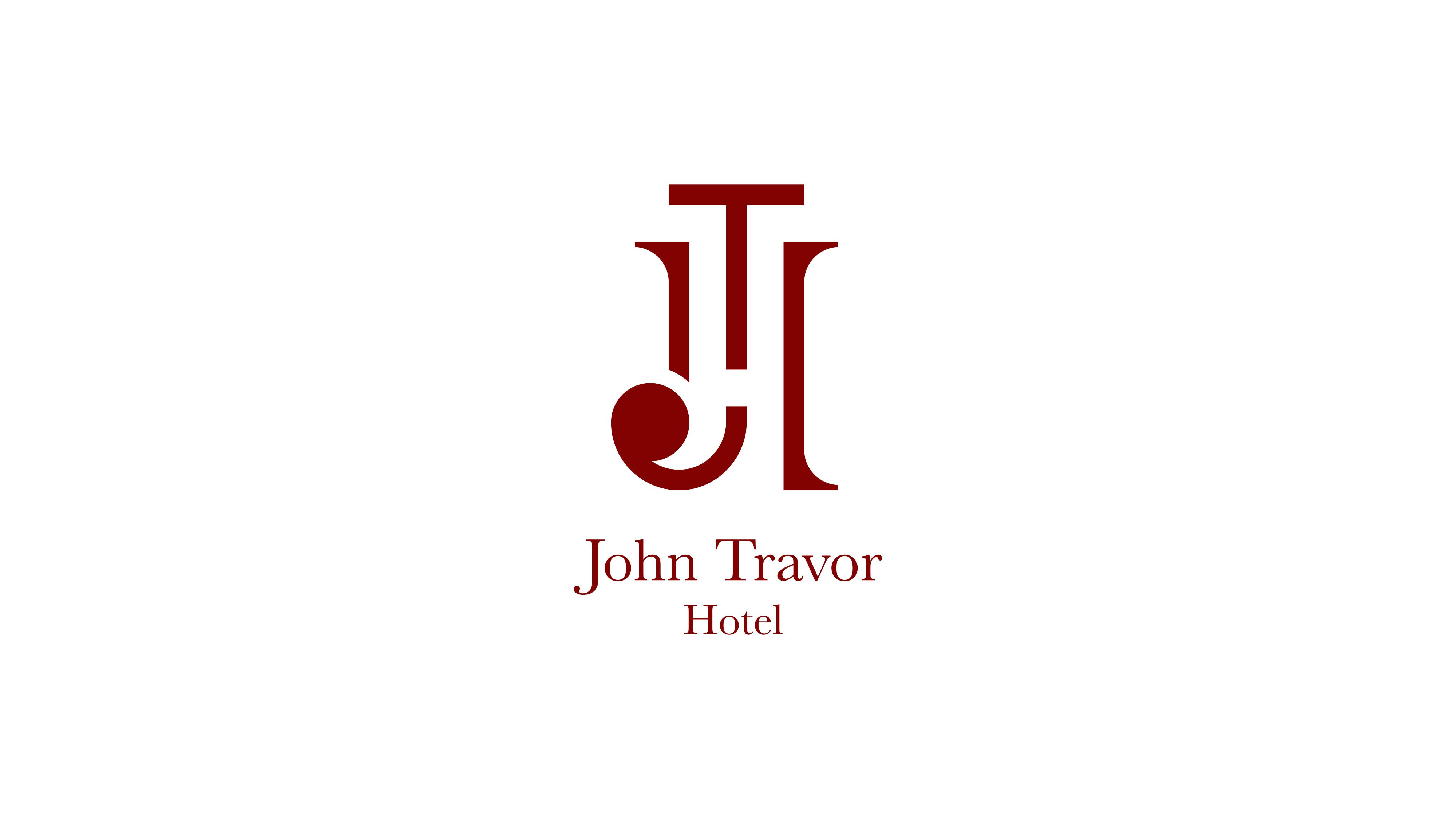 logo di john travor hotel bordeaux su sfondo bianco