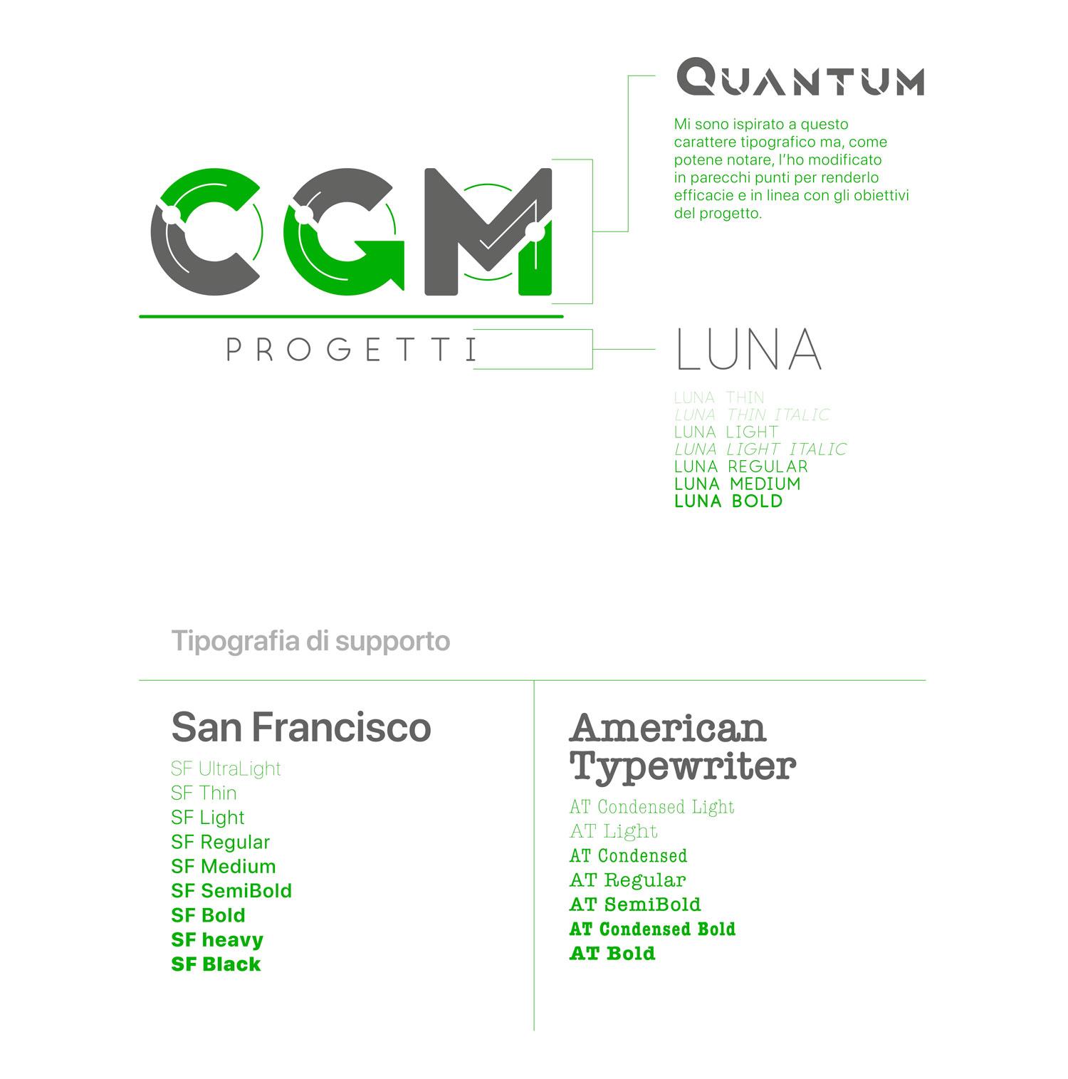 logo cgm progetti in verde e grigio con scritte sulla destra e in basso
