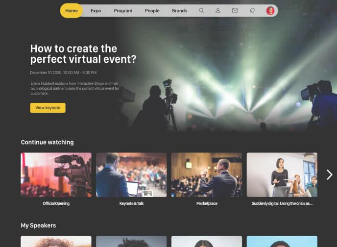 Meetinbox virtual event streaming platform