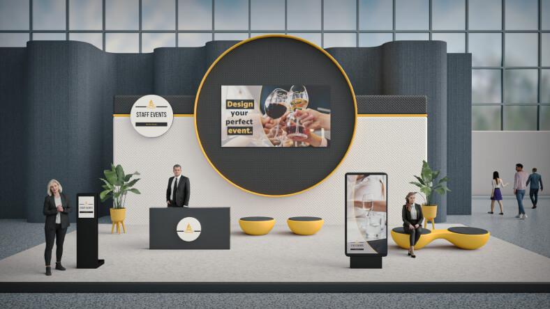 Hospitality virtual fair