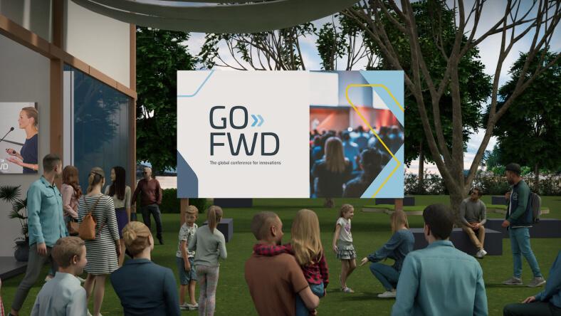 3d virtual event