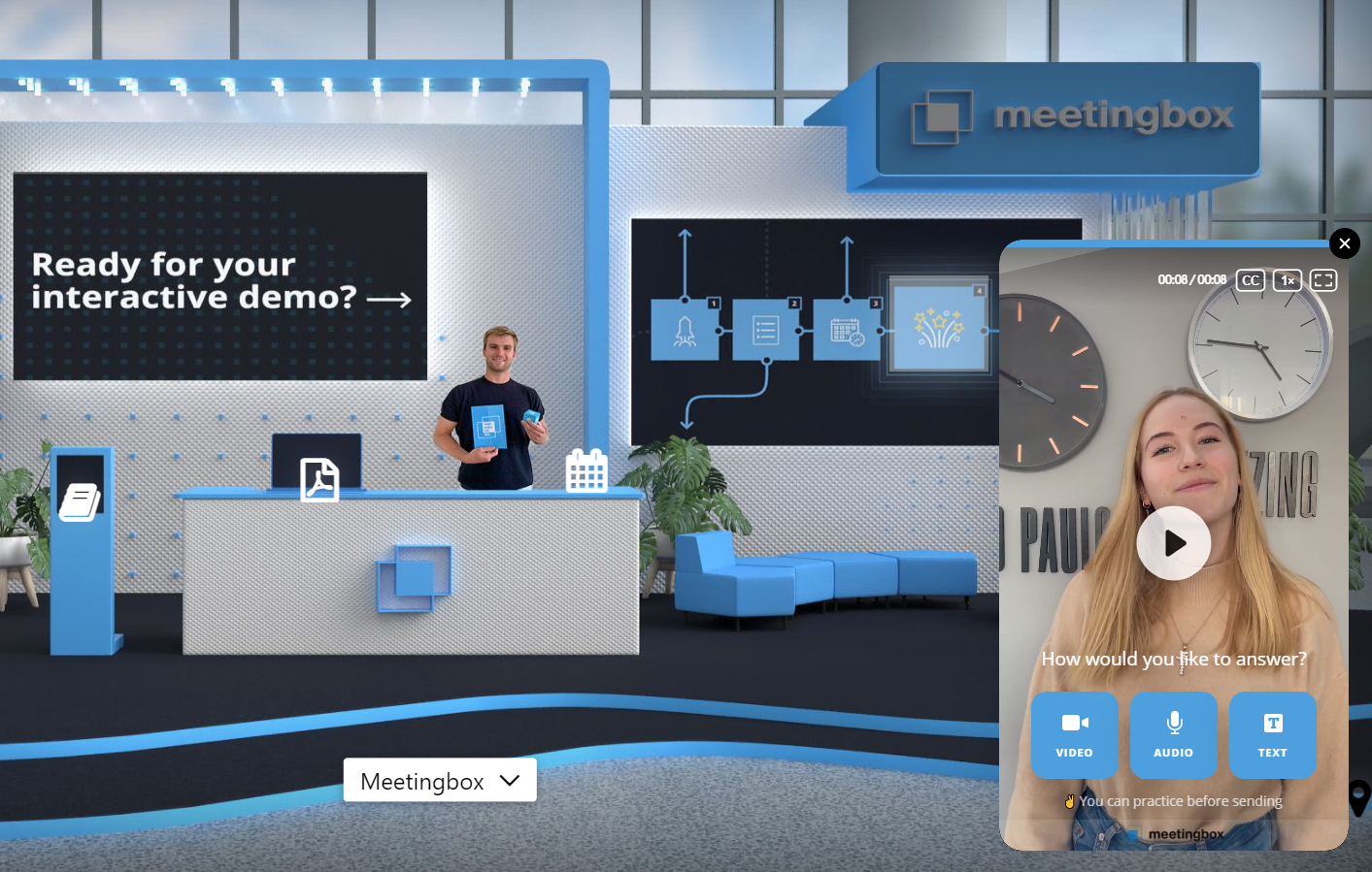 Feature highlight: Your virtual event host