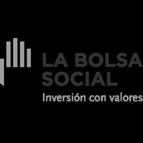 El logo de La Bolsa Social