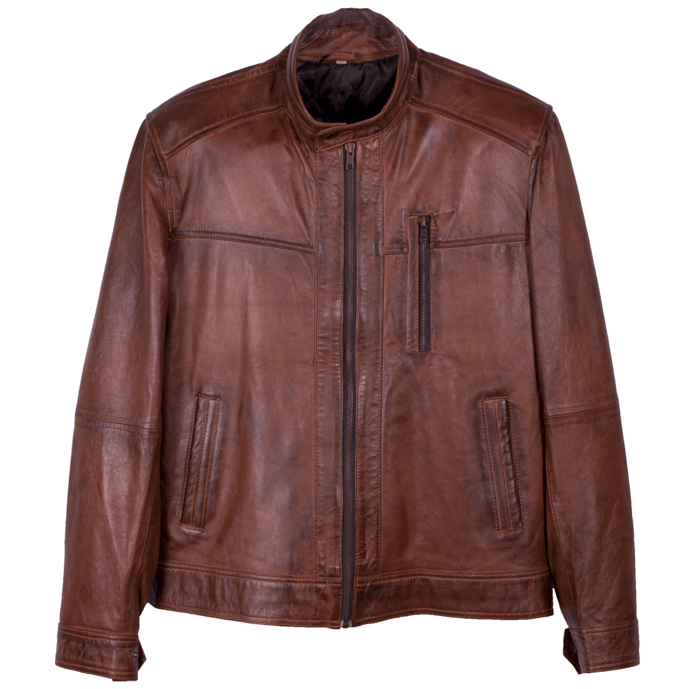 Classic Leather Racer Jacket