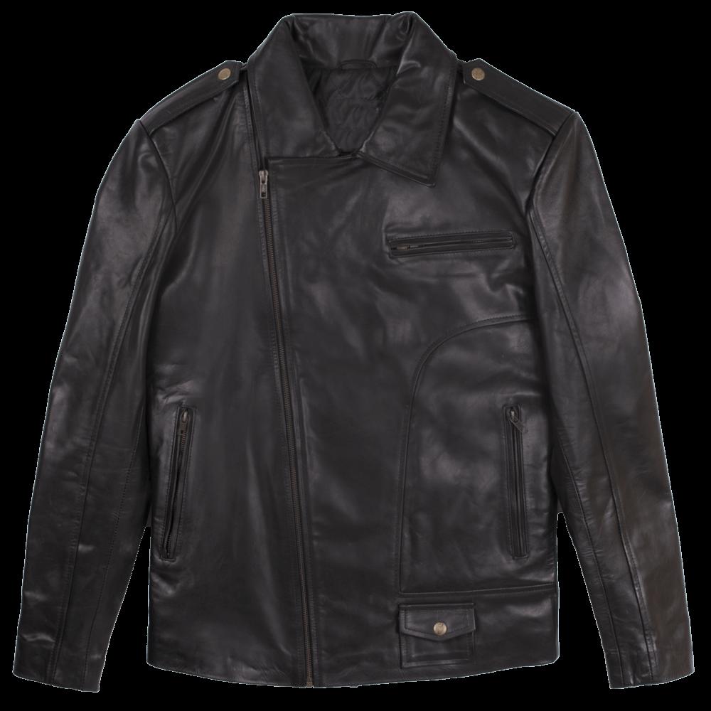 Classic Sheepskin Leather Jacket