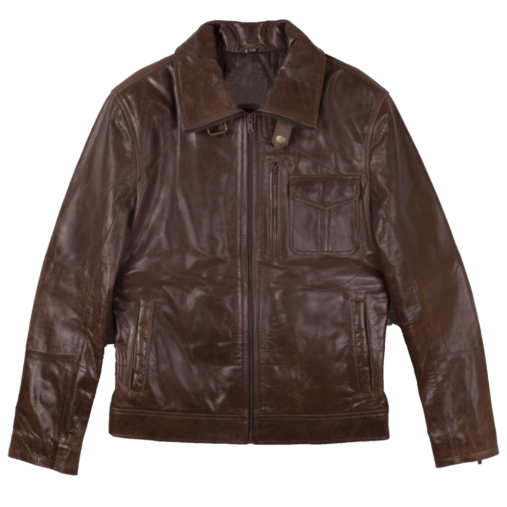 Sheepskin Leather Jacket