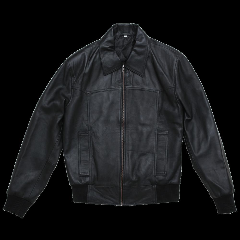 Sheepskin Leather Flight Jacket