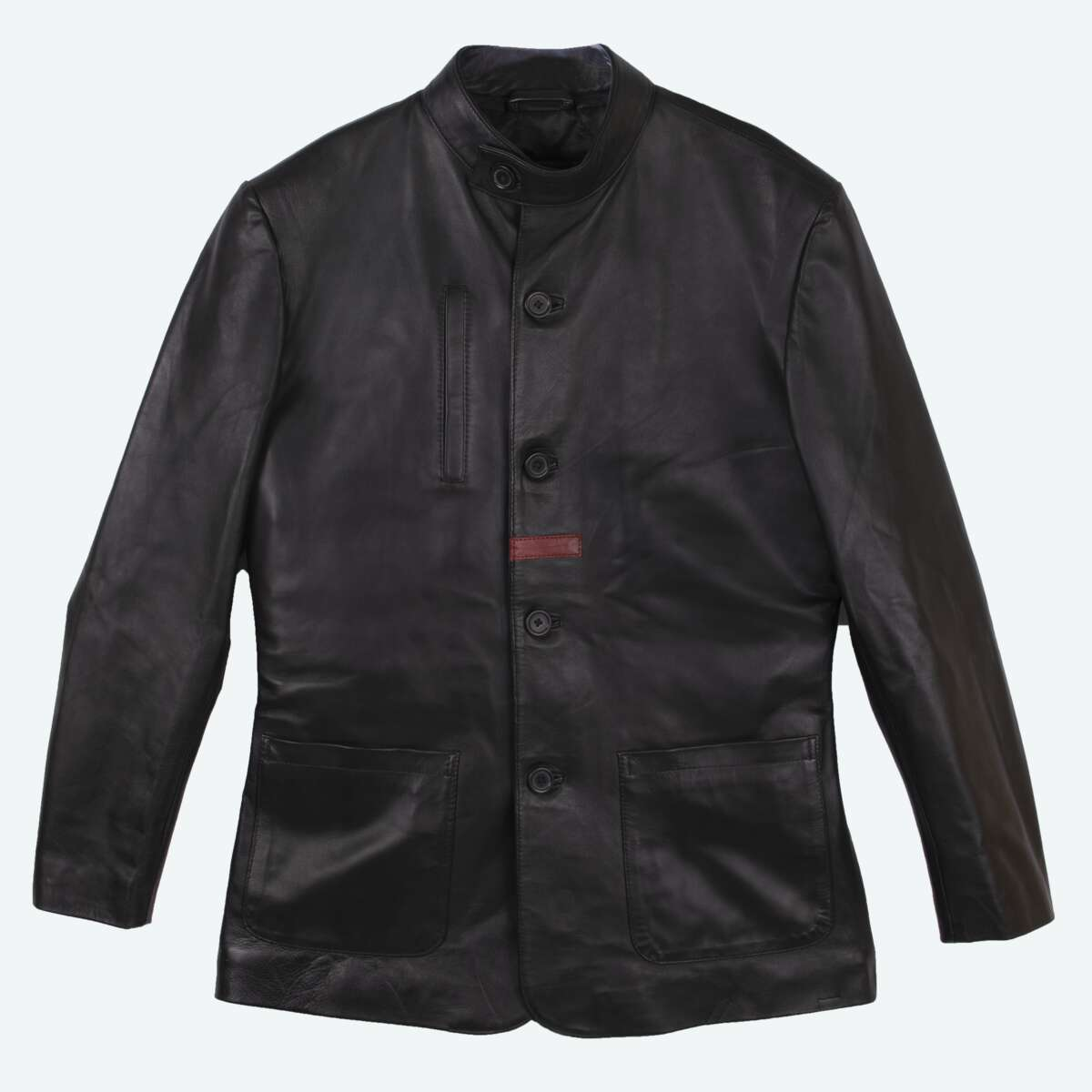 Sheepskin Leather Blazer