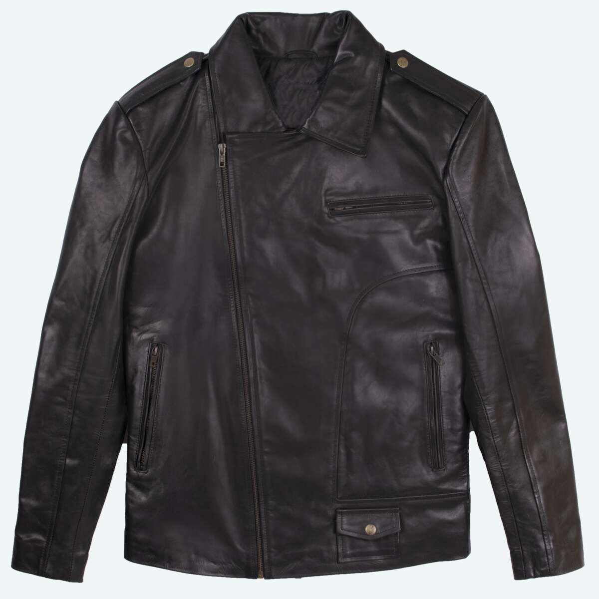 Classic Sheepskin Leather Jacket