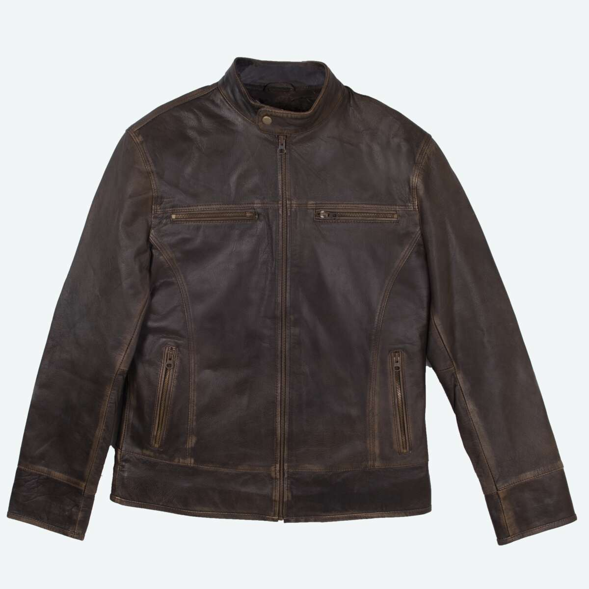 Lightweight Sheepskin Racer Jacket