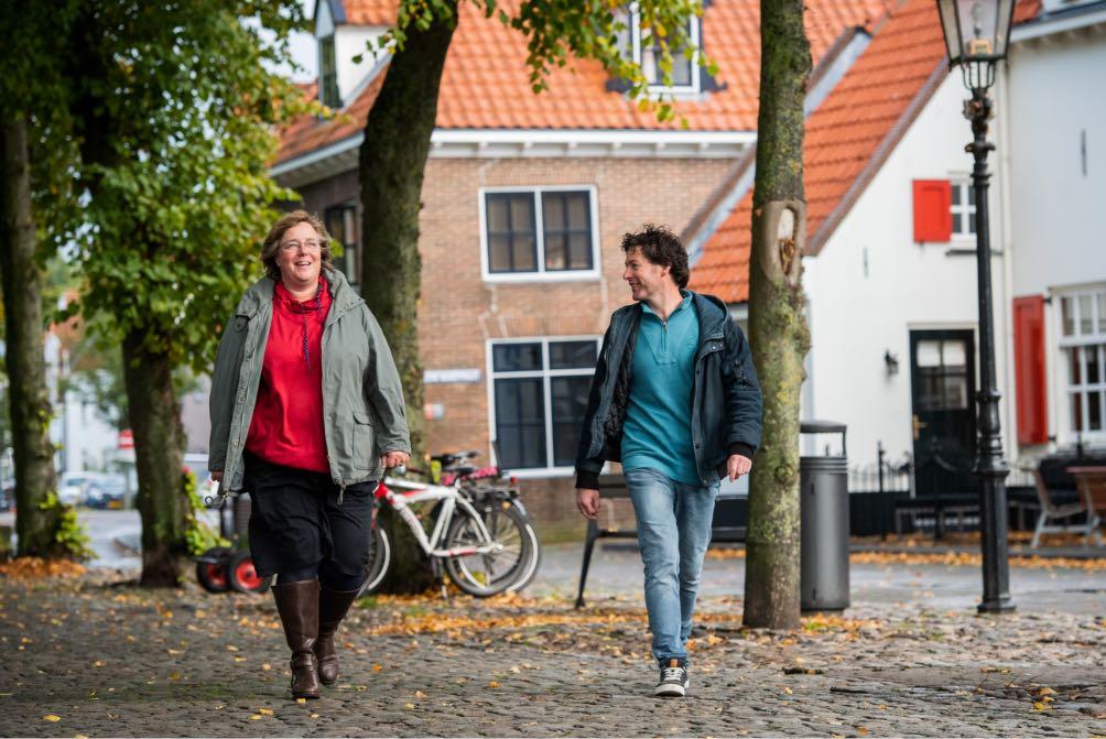 Ineke en Kees in Harderwijk