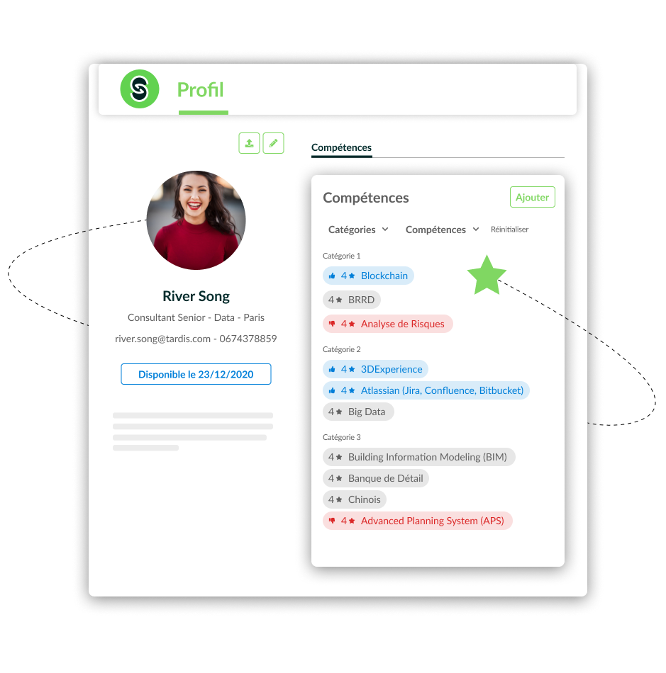 la création d'équipe digitalisée Staffing PickYourSkills