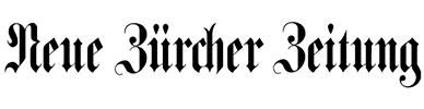 Logo Neue Züricher Zeitung