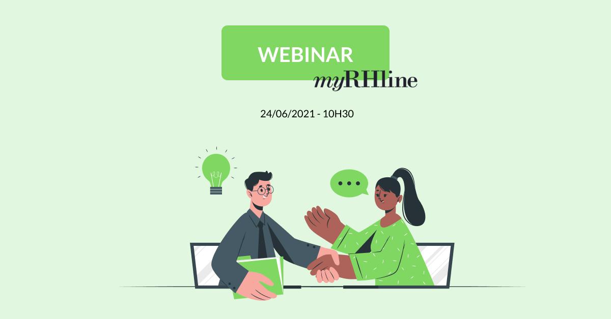 Rendez-vous le 24 juin 2021 à 10H30 pour 30 minutes de webinar à l'occasion de la semaine de la transformation digitale des ressources humaines, organisée par MyRHline ! Notre CEO Arnaud Caldichoury vous donnera les clés pour déployer une stratégie RH ambitieuse !
