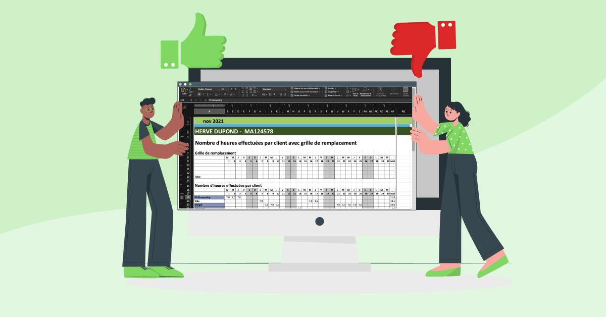 La gestion du planning sur Excel peut être un véritable casse-tête. Nous vous expliquons en quoi cela peut sembler être une bonne idée au départ et comment y remédier.