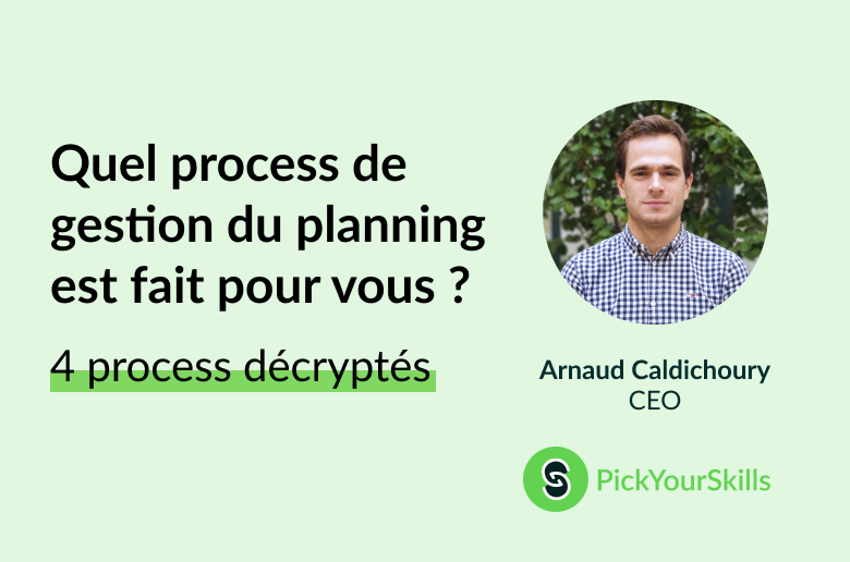 4 process de planning décryptés