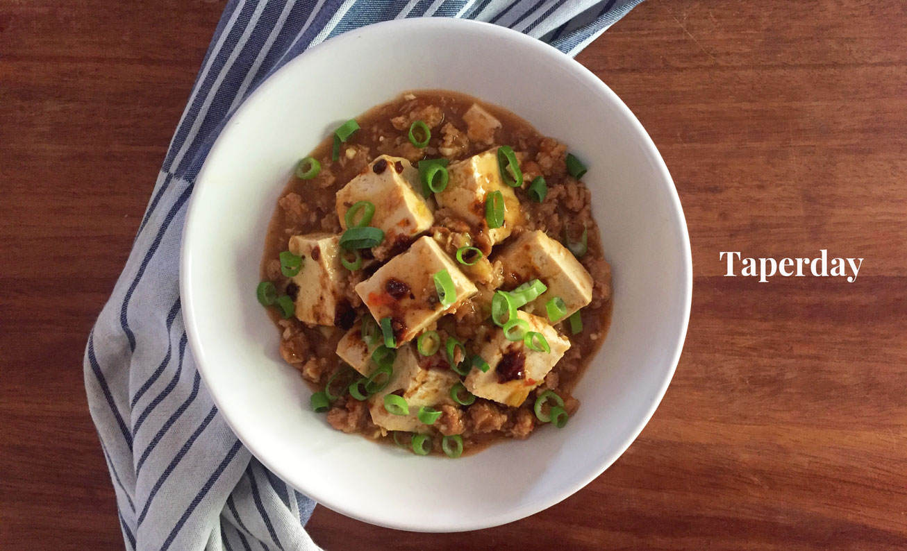 mapo tofu vegano