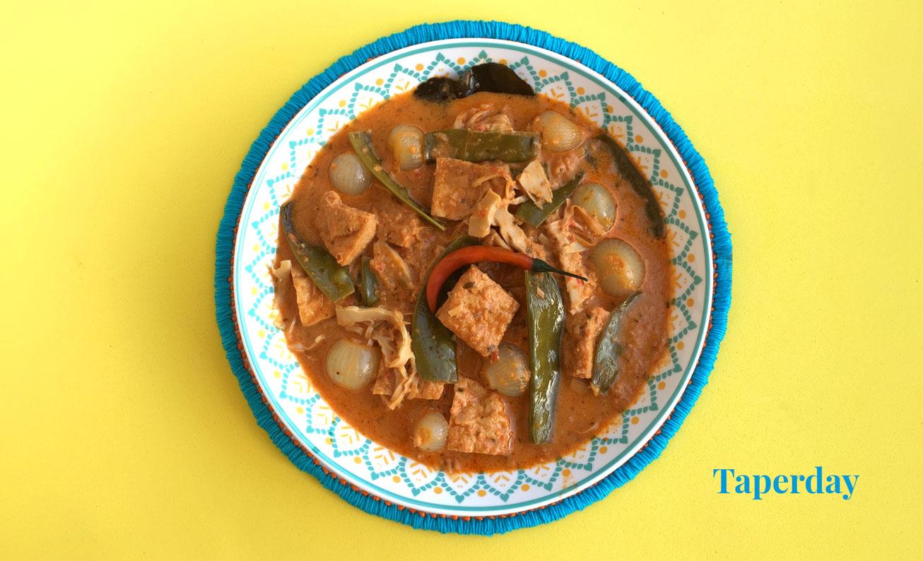 curry rojo suave