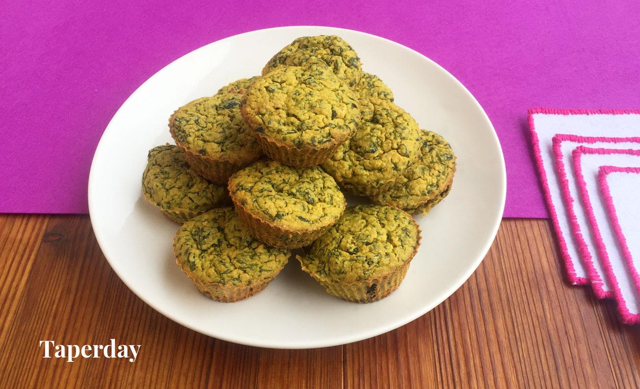 Muffins salados veganos y sin gluten