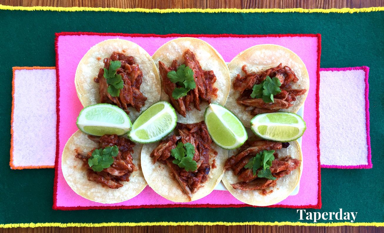 Tacos veganos con Heura