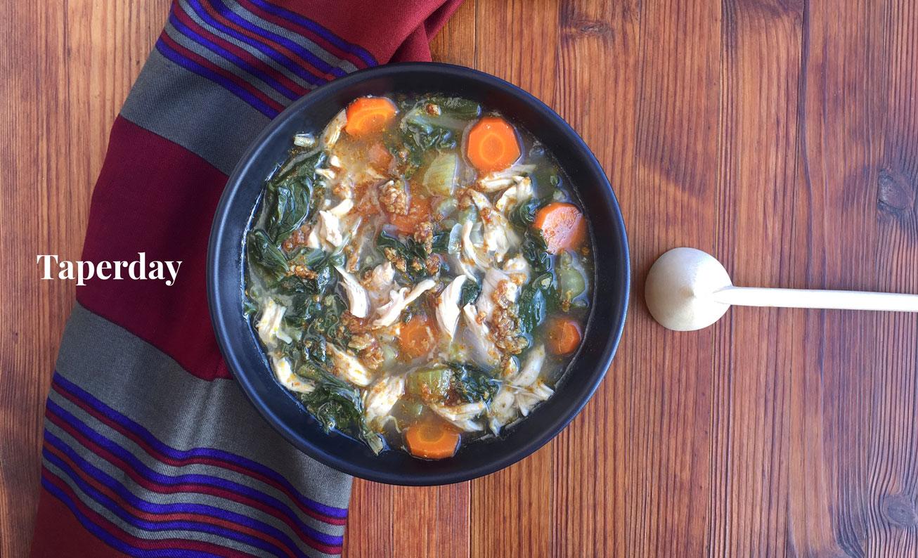 Sopa de pollo para Eid al-fitr