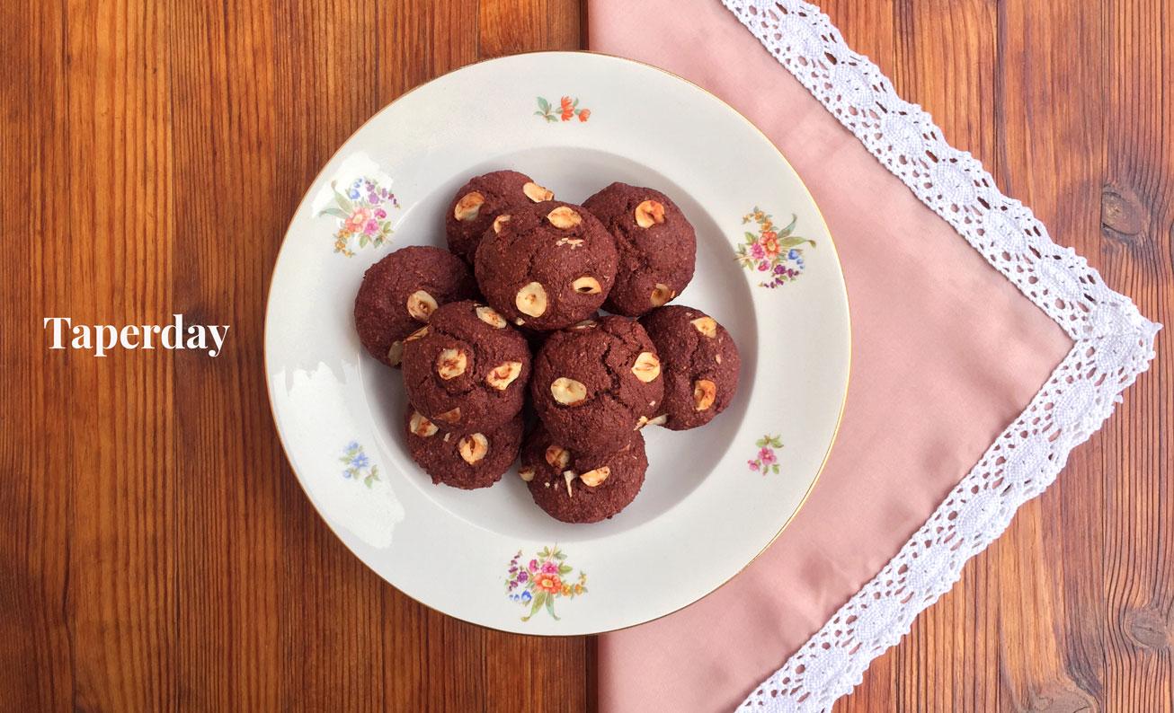 Galletas veganas de plátano y cacao sin gluten