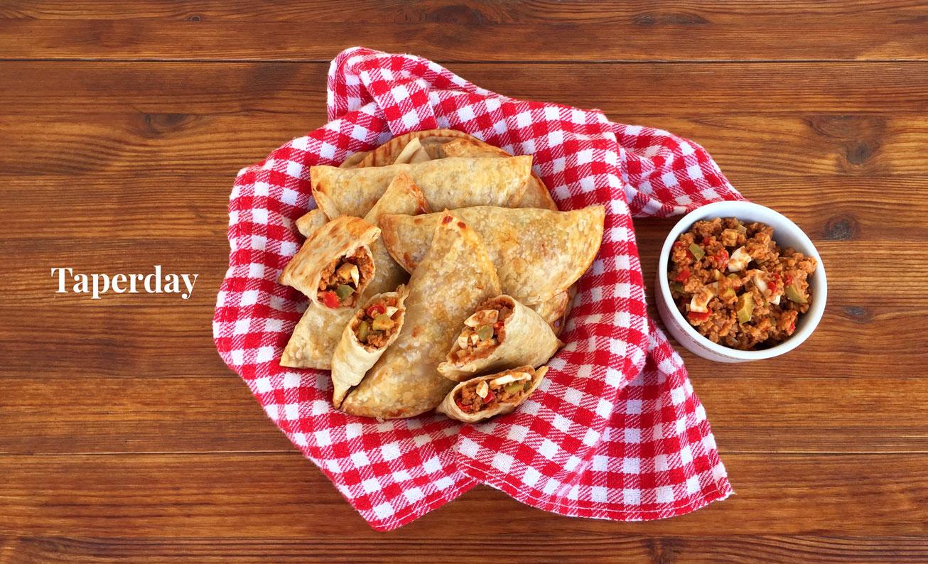 Empanadas criollas vegetarianas