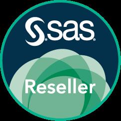 SAS Reseller Badge, Circle.