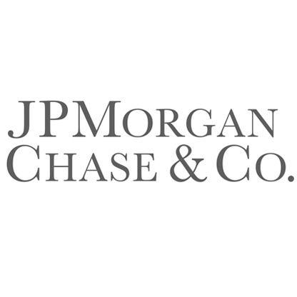 JP Morgan logo.
