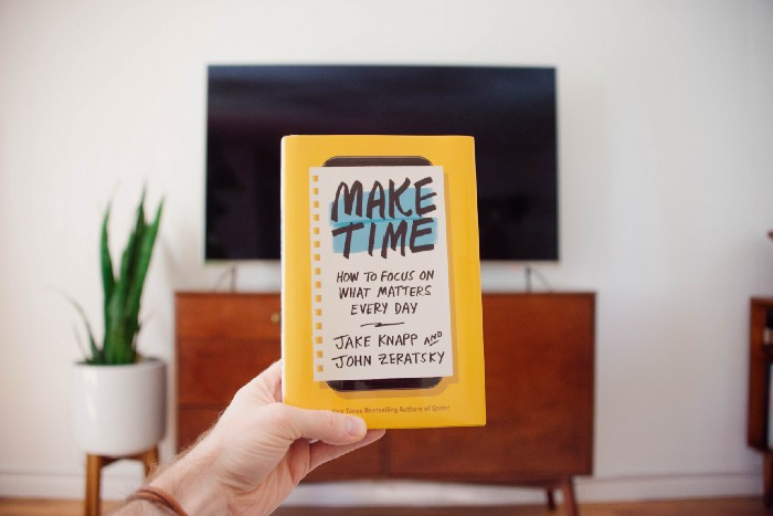 3 things I got from Make Time
