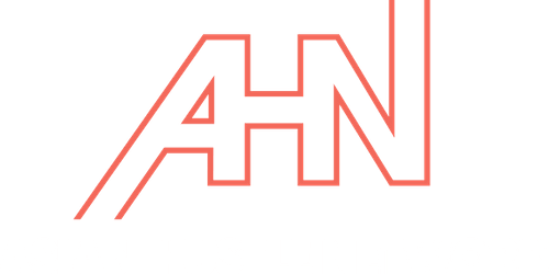 An official logo of Asian Hustle Network