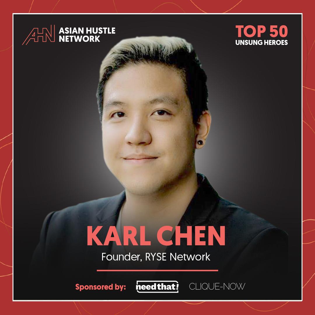 www.asianhustlenetwork.com: Karl Chen: Founder of RYSE Network