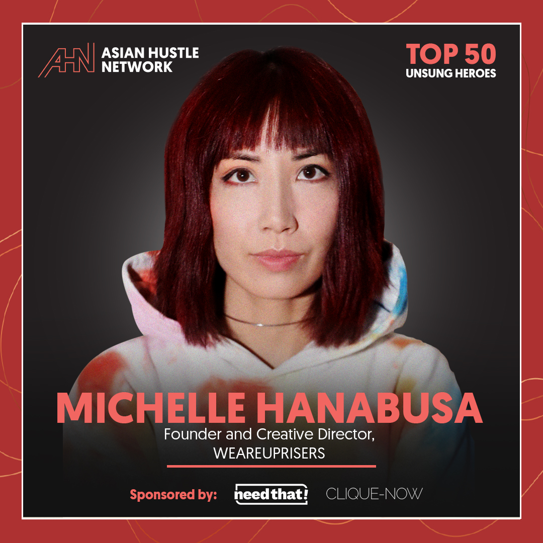 www.asianhustlenetwork.com: Michelle Hanabusa: Founder and Creative Director of WEAREUPRISERS